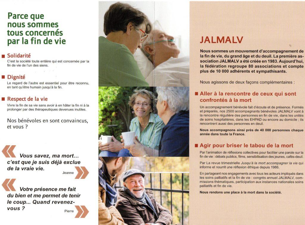 Les valeurs de JALMALV